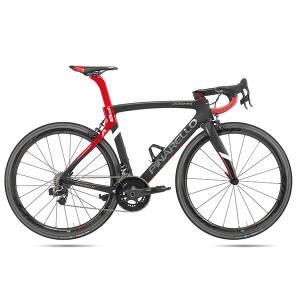 Bici_dogma_f8_nero_rosso_Olmo Olmo la Biciclissima
