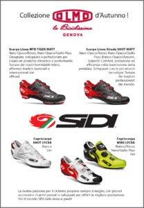 Collezione scarpe Sidi, Olmo la Biciclissima Genova